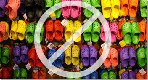 no-crocs